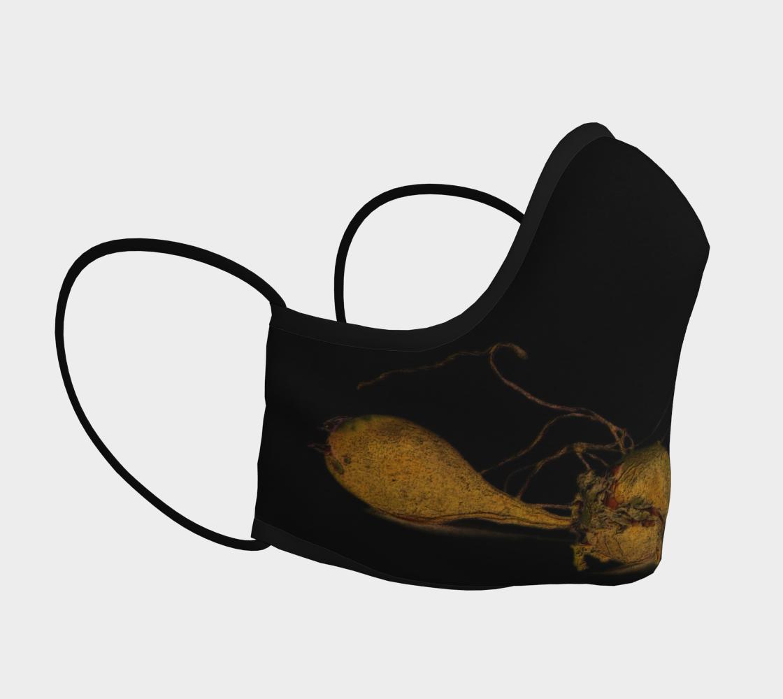 Aperçu de Seaweed on Black Mask #3
