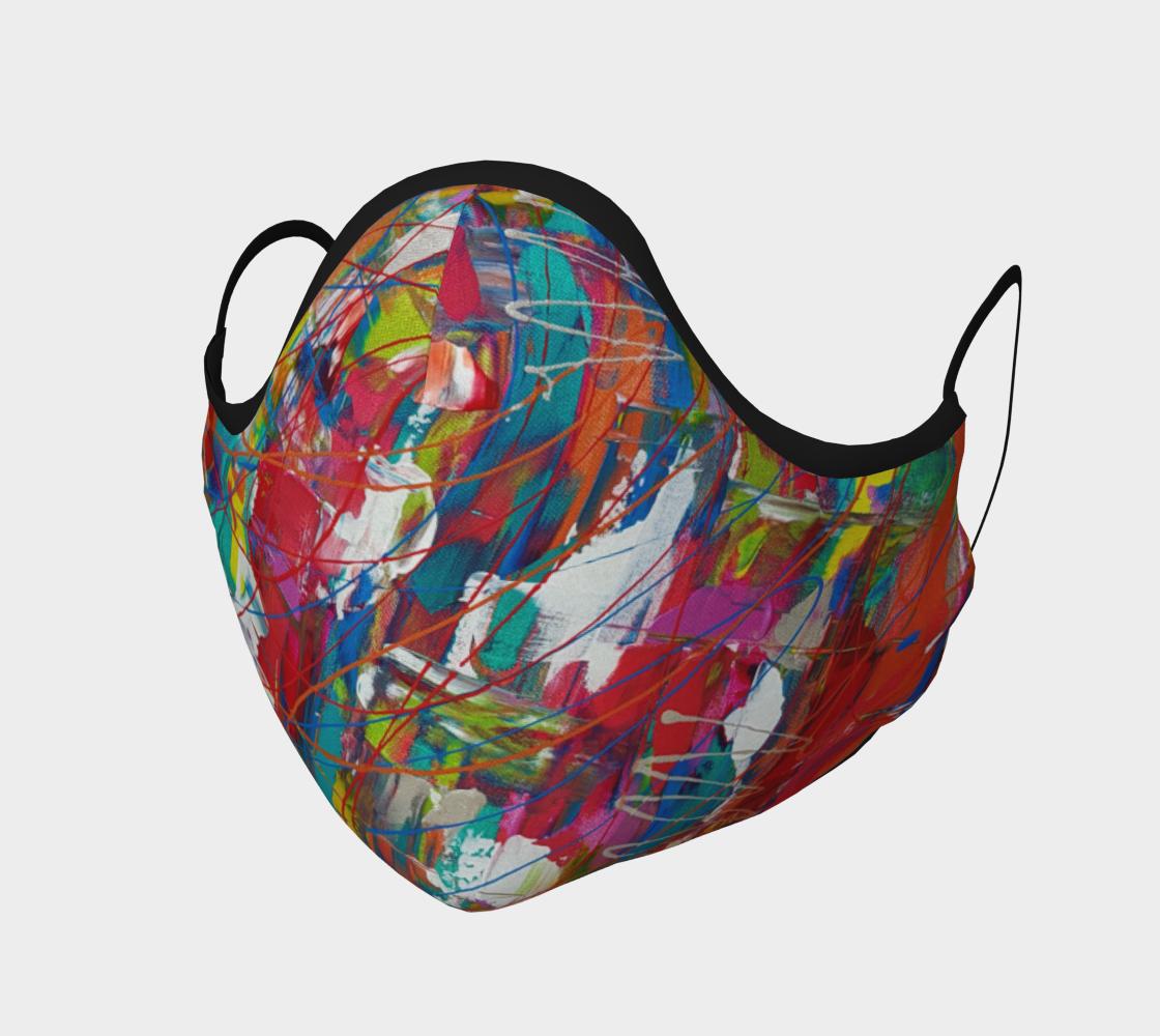 Aperçu de Masque de protection artiste peinture toile