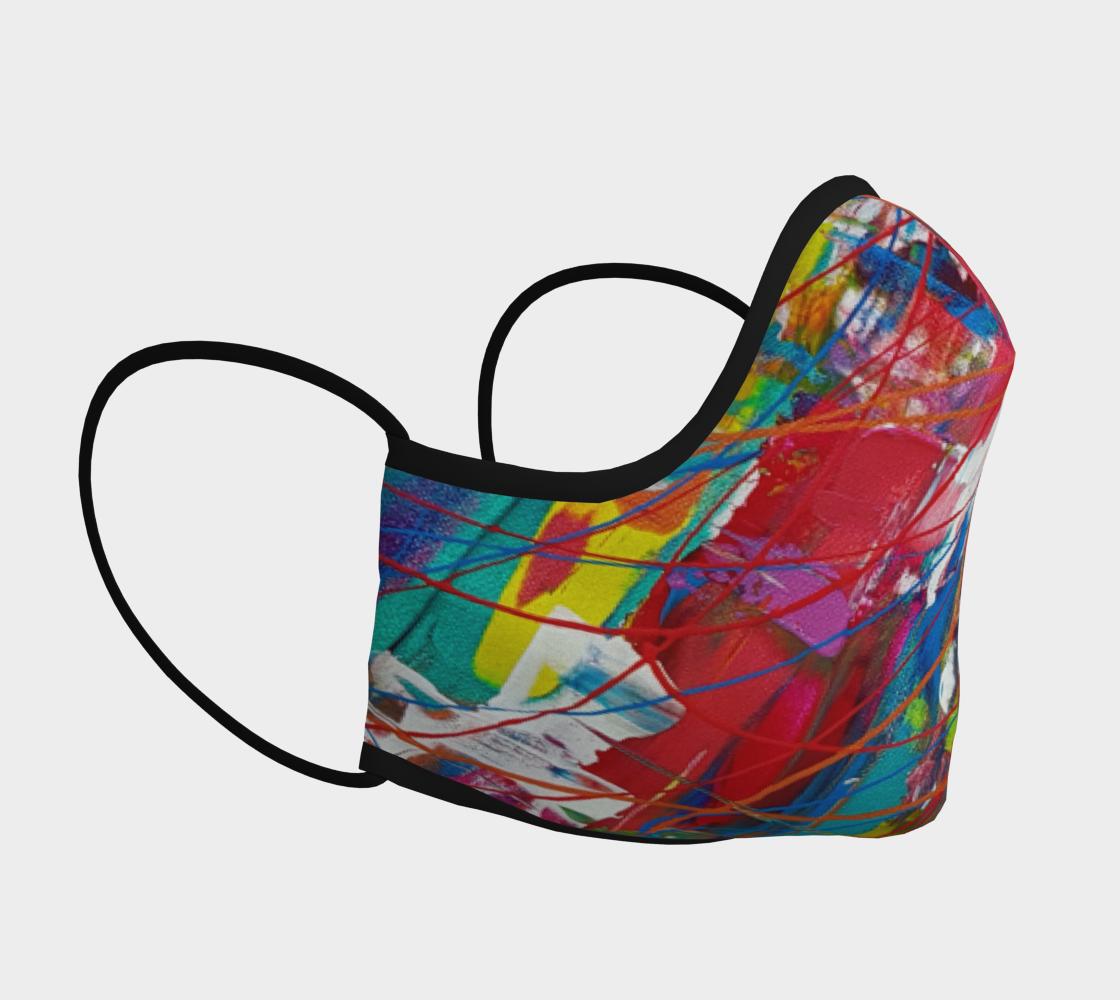 Aperçu de Masque de protection  artistique toile acrylique #3