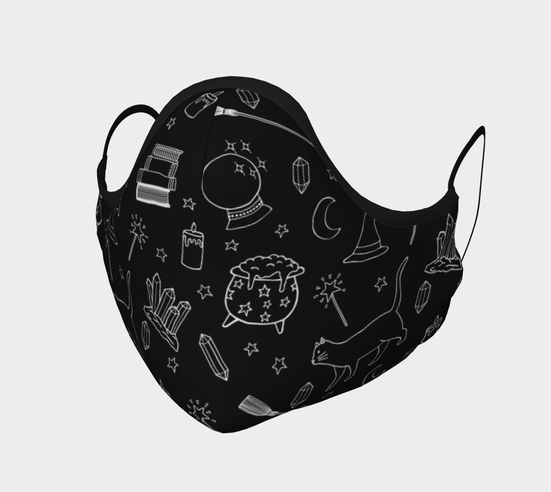Masque chat sorcière / Witchy kitty mask aperçu