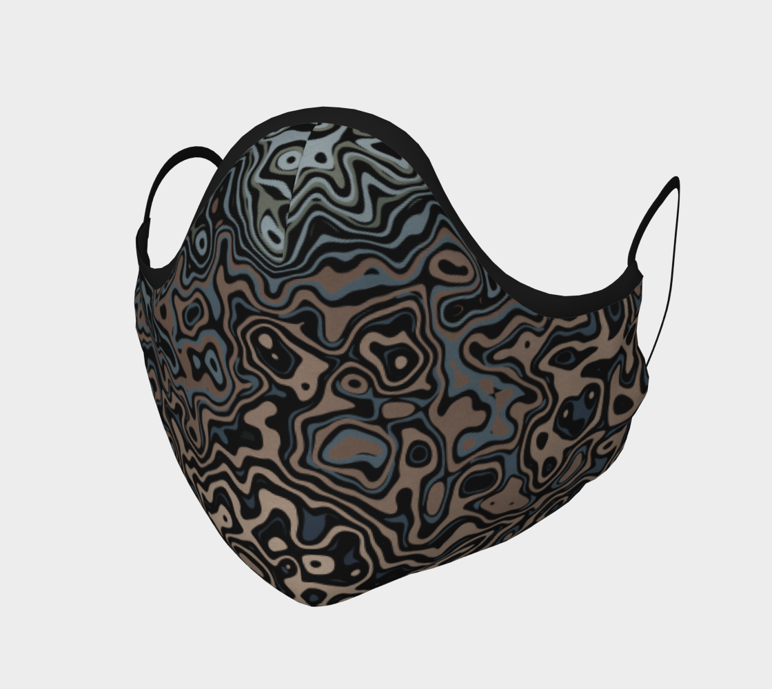 Urban Camouflage Pattern Face Mask Covering preview