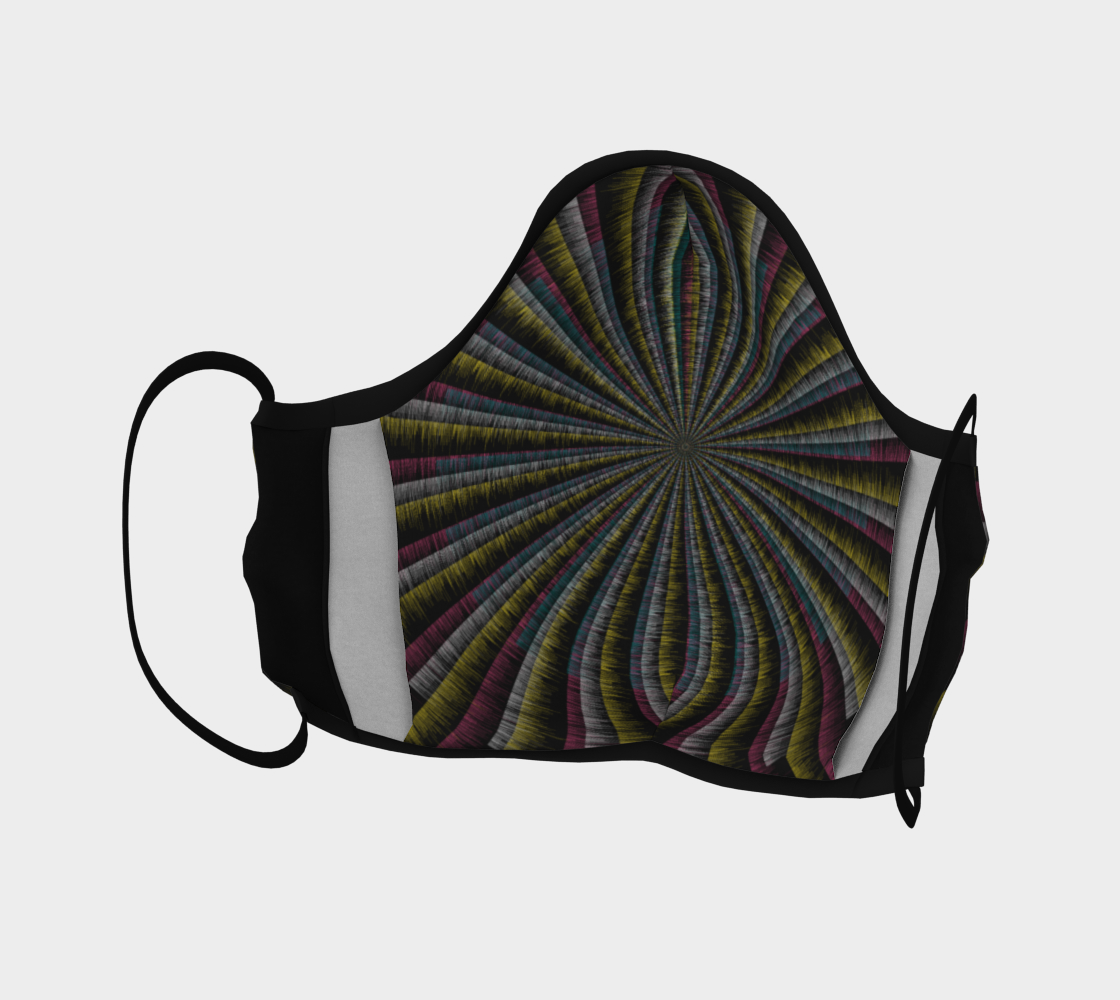 Trippy Tunnel Face Covering preview #4