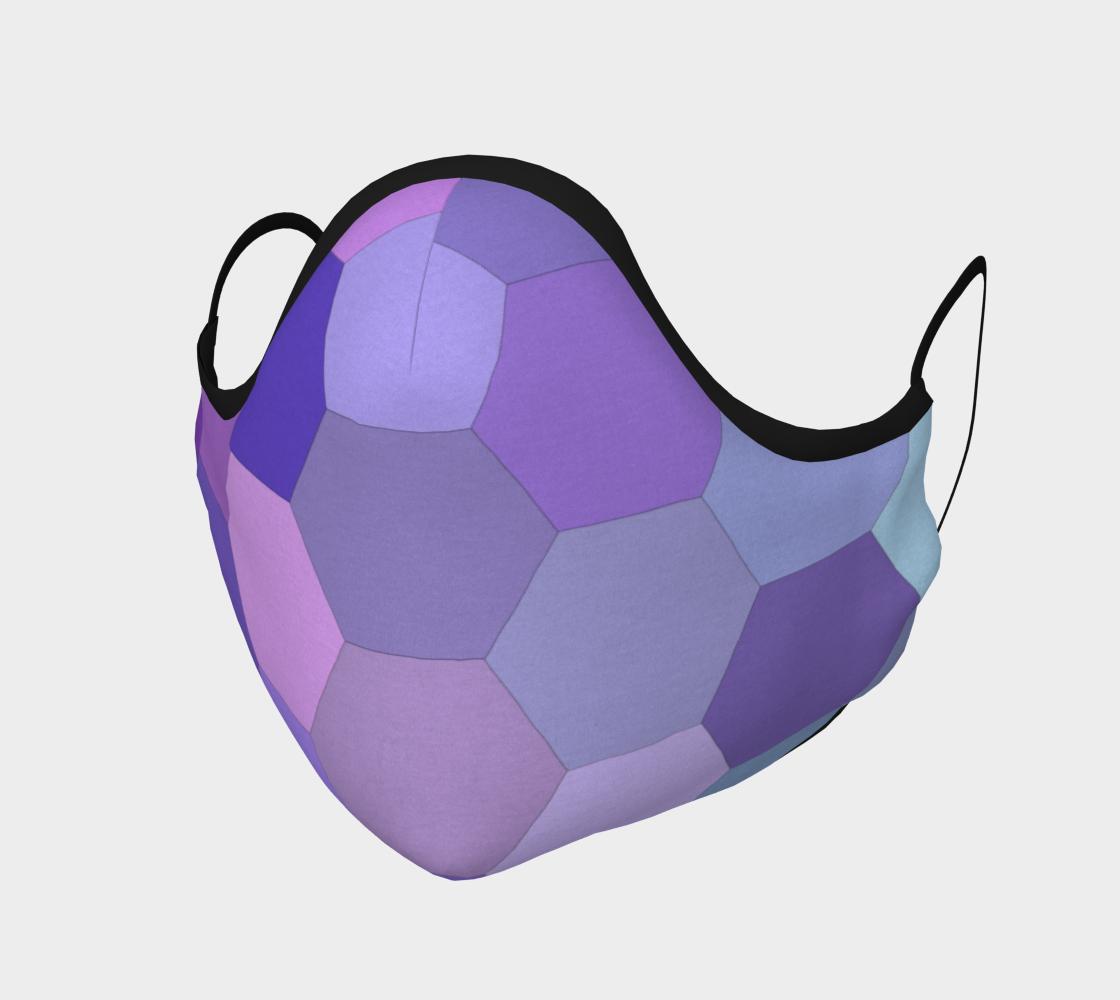 Aperçu de hexagone violet