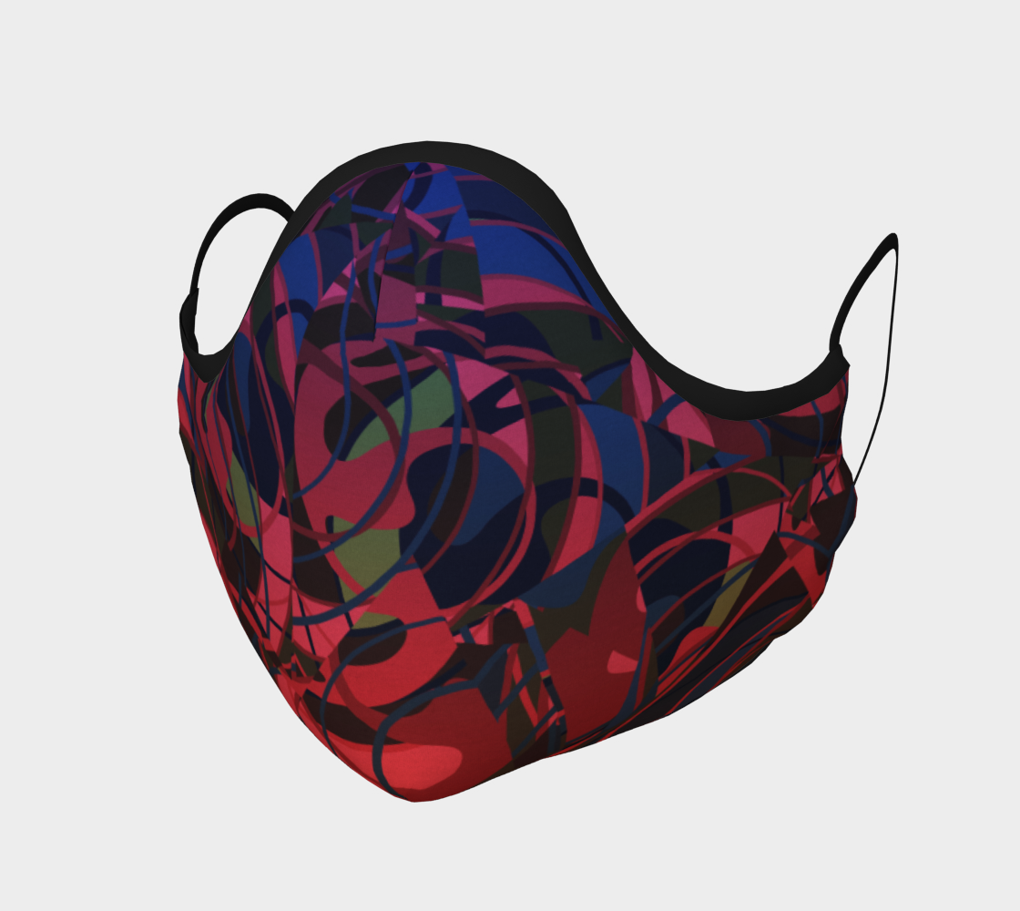 Red and Blue Abstract Tangles preview
