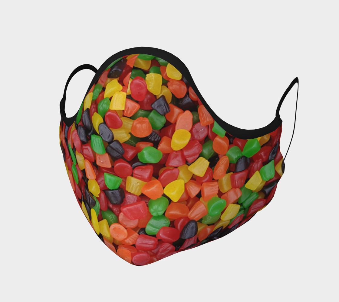 Aperçu de Masque de protection Thème bonbons Candy