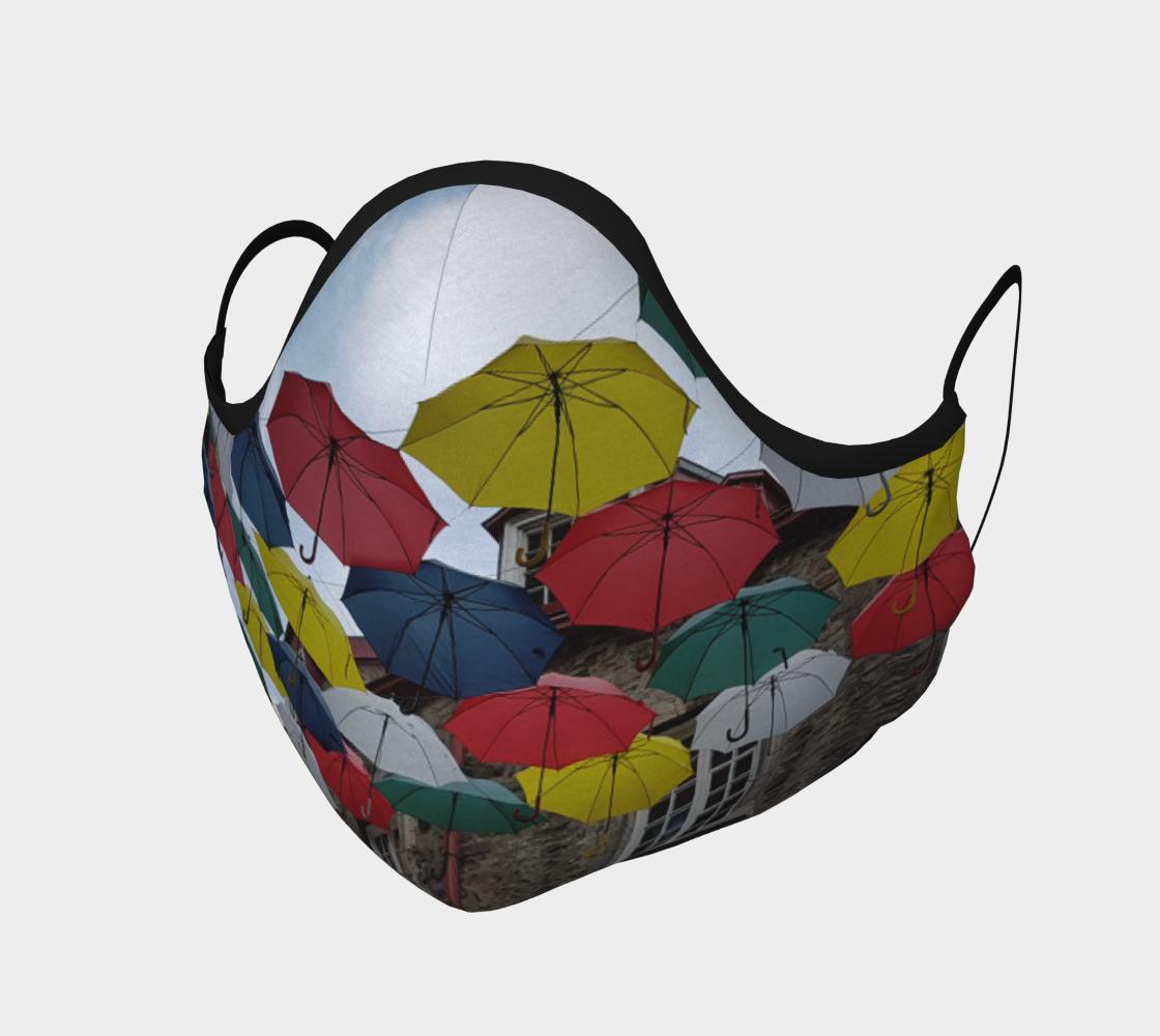 Aperçu de Masque de protection Vieux-quebec city parapluies