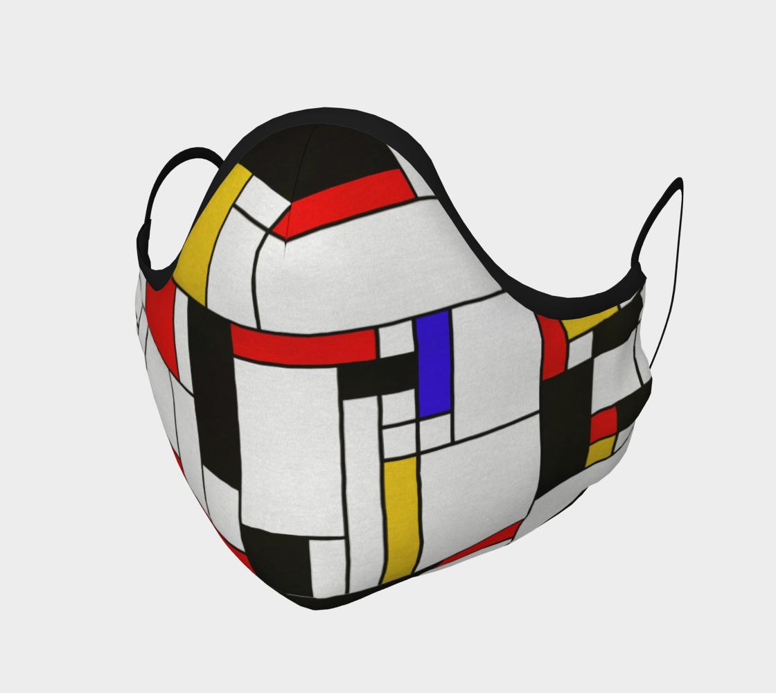 Aperçu de Mondrian Abstract Art