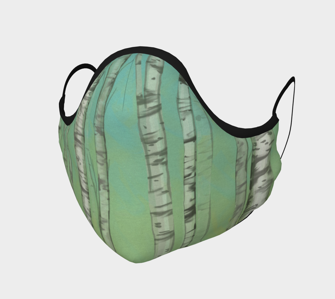 Aspen Trees Mask preview