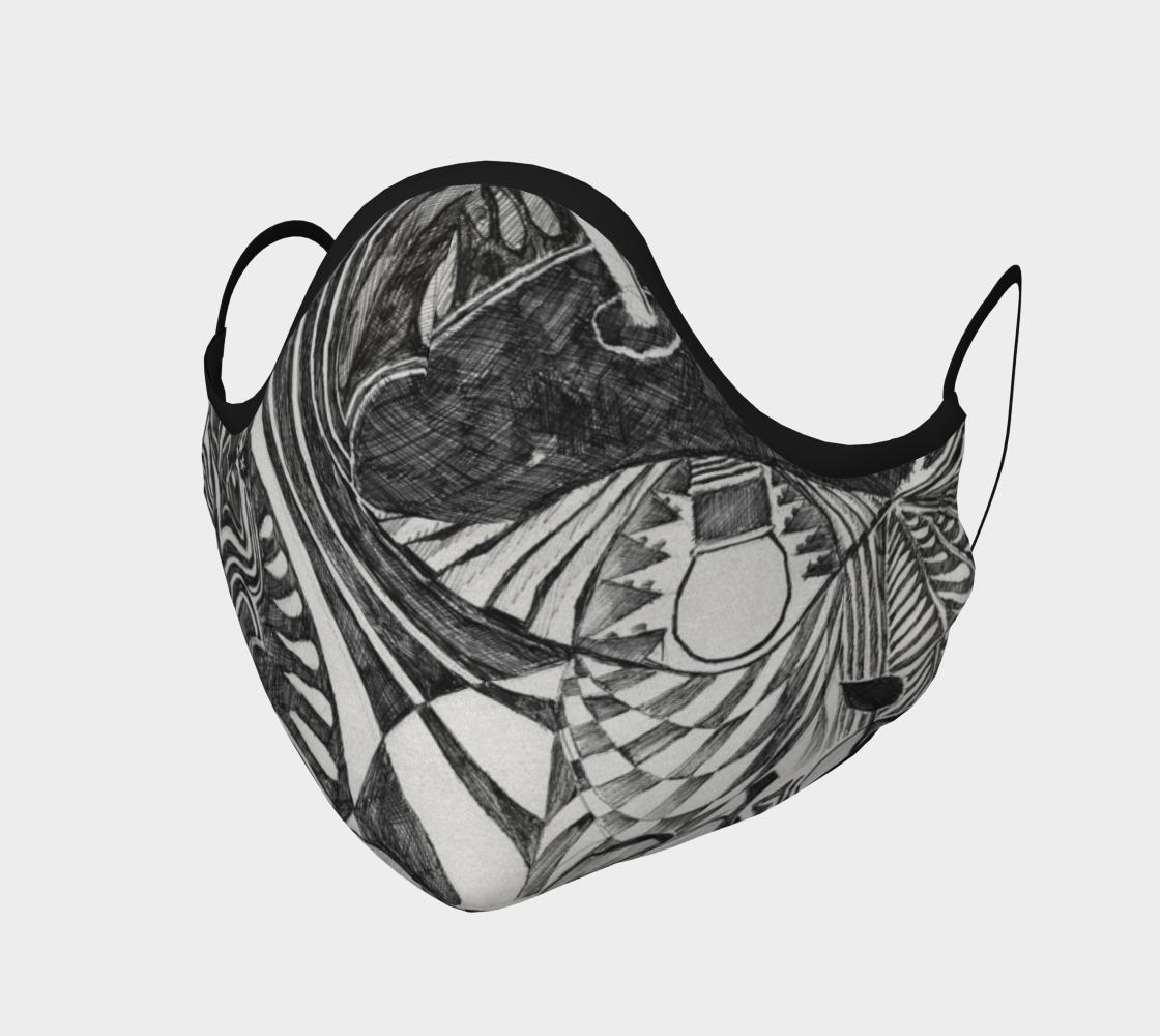Aperçu de Shoosty Facemask Still-life Drawing