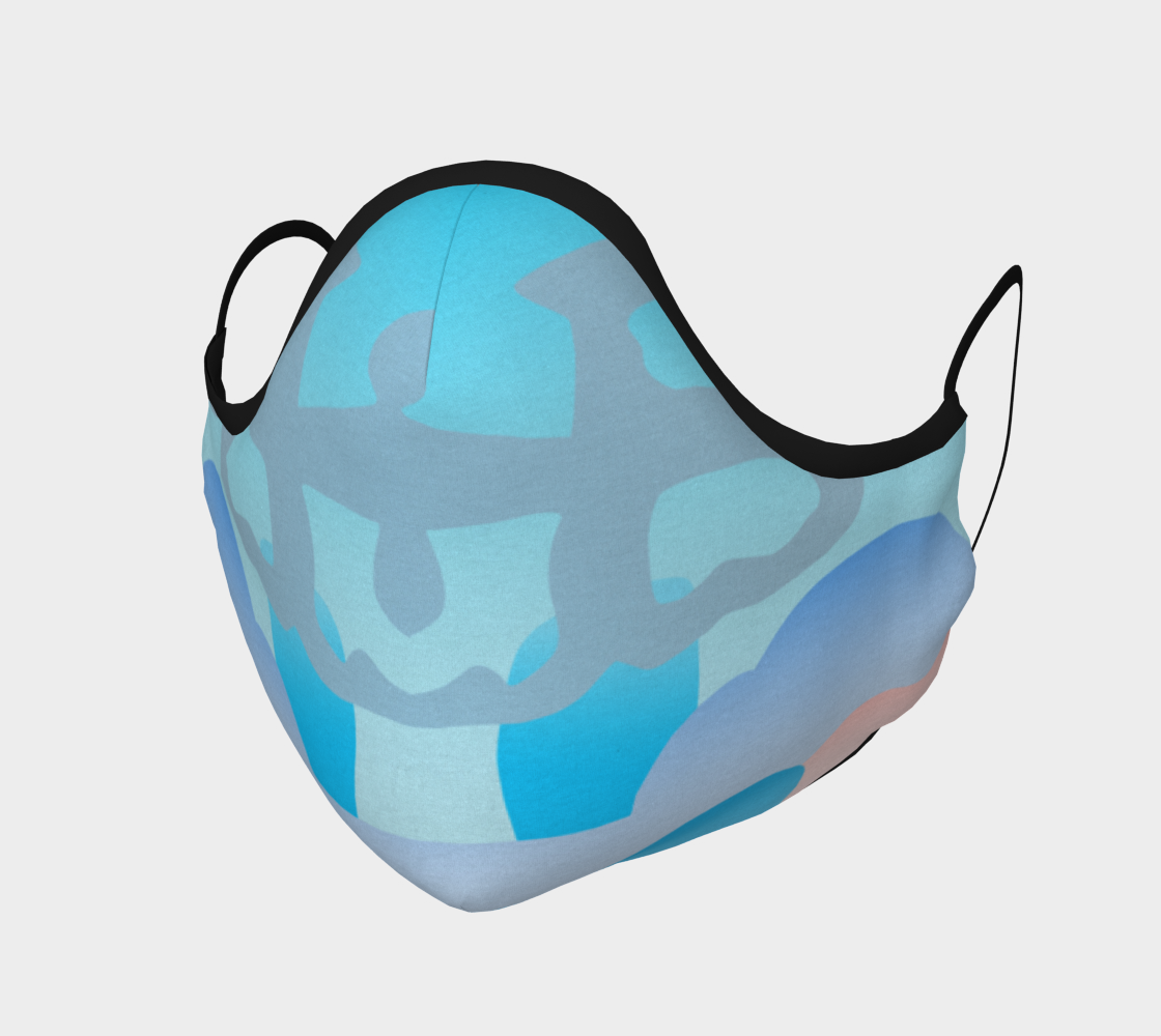 Shoosty Facemask with Trippy Clouds preview
