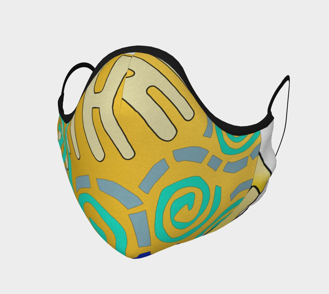 Aperçu de Shoosty Facemask Swirls