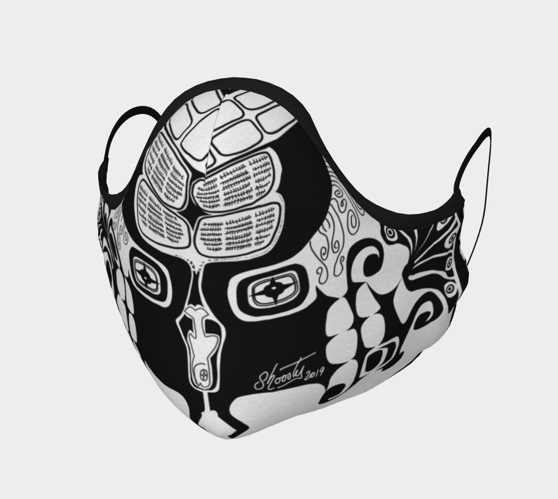 Aperçu de Shoosty Facemask Tribelicious 1