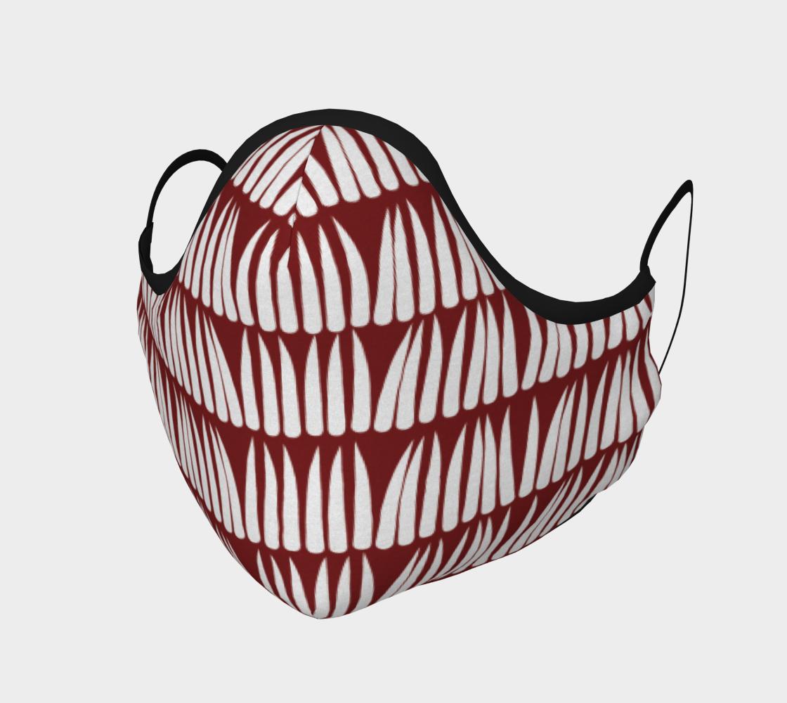 red dentillium mask preview