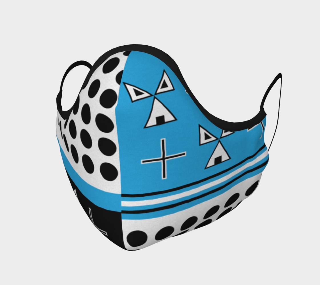 warrior mask blue preview