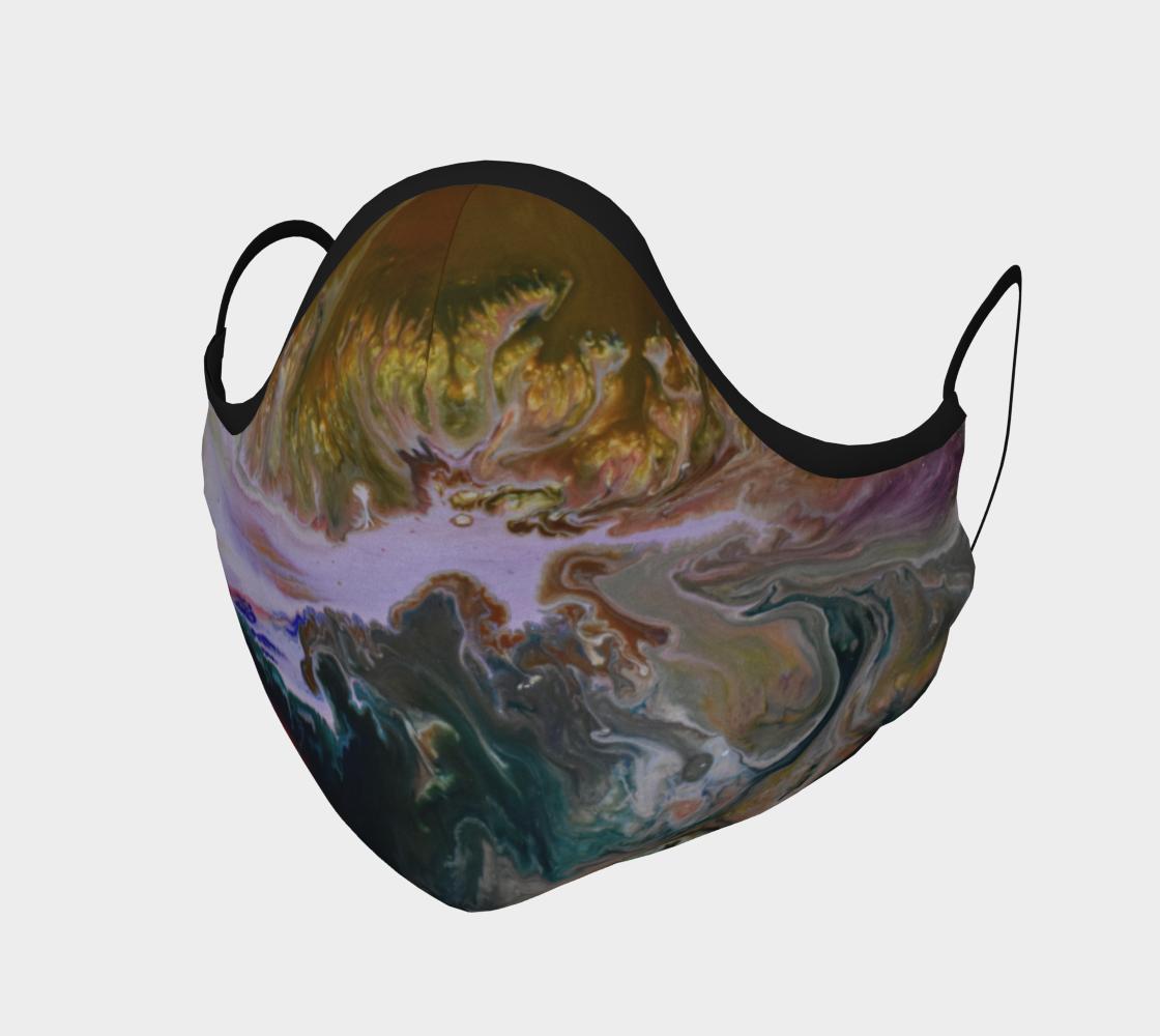 Aperçu de Golden Flower mask