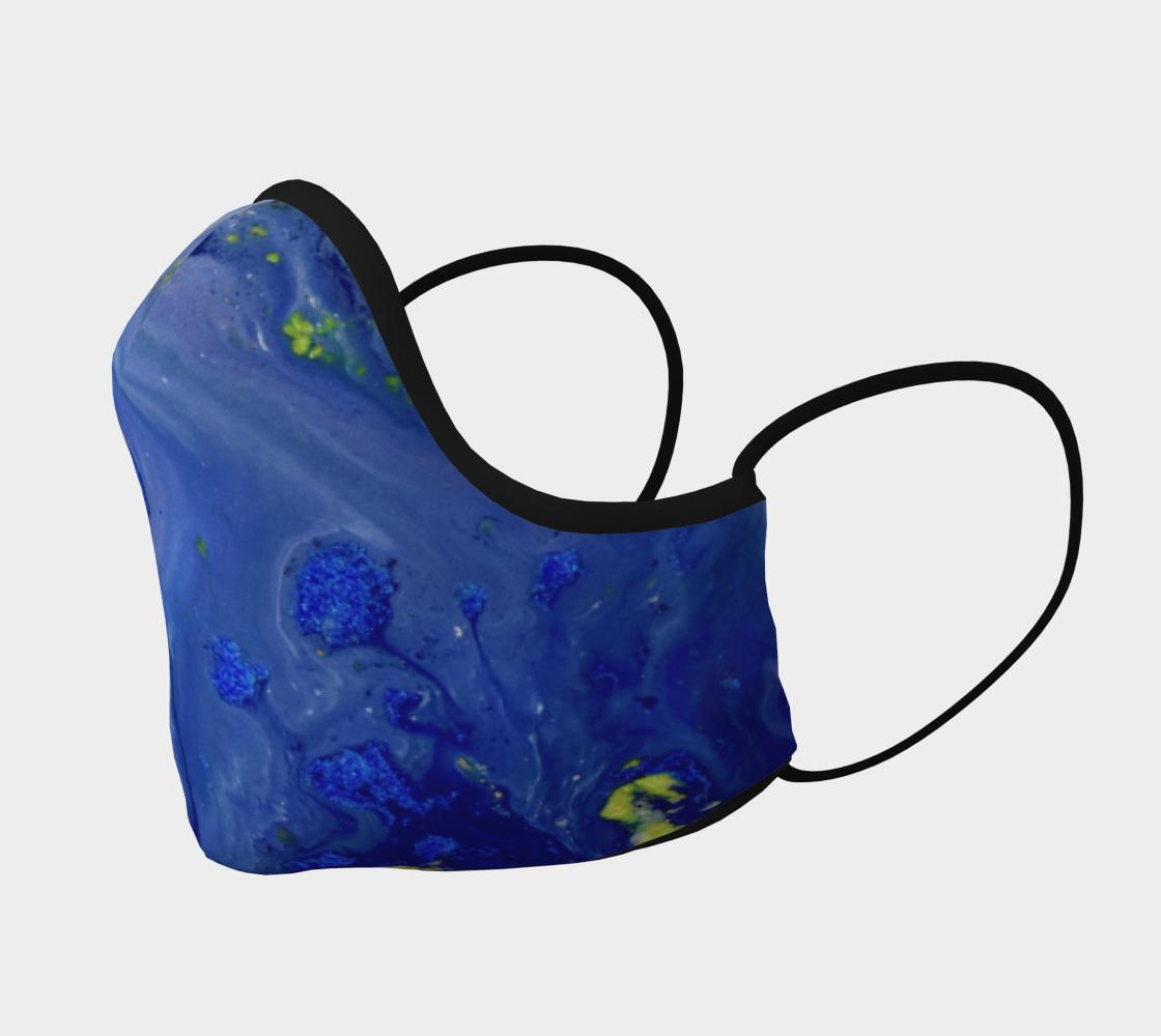 Aperçu de Blue Magic flower Mask #2
