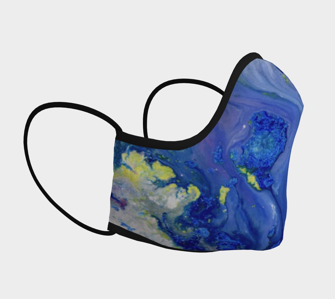 Aperçu de Blue Magic flower Mask #3