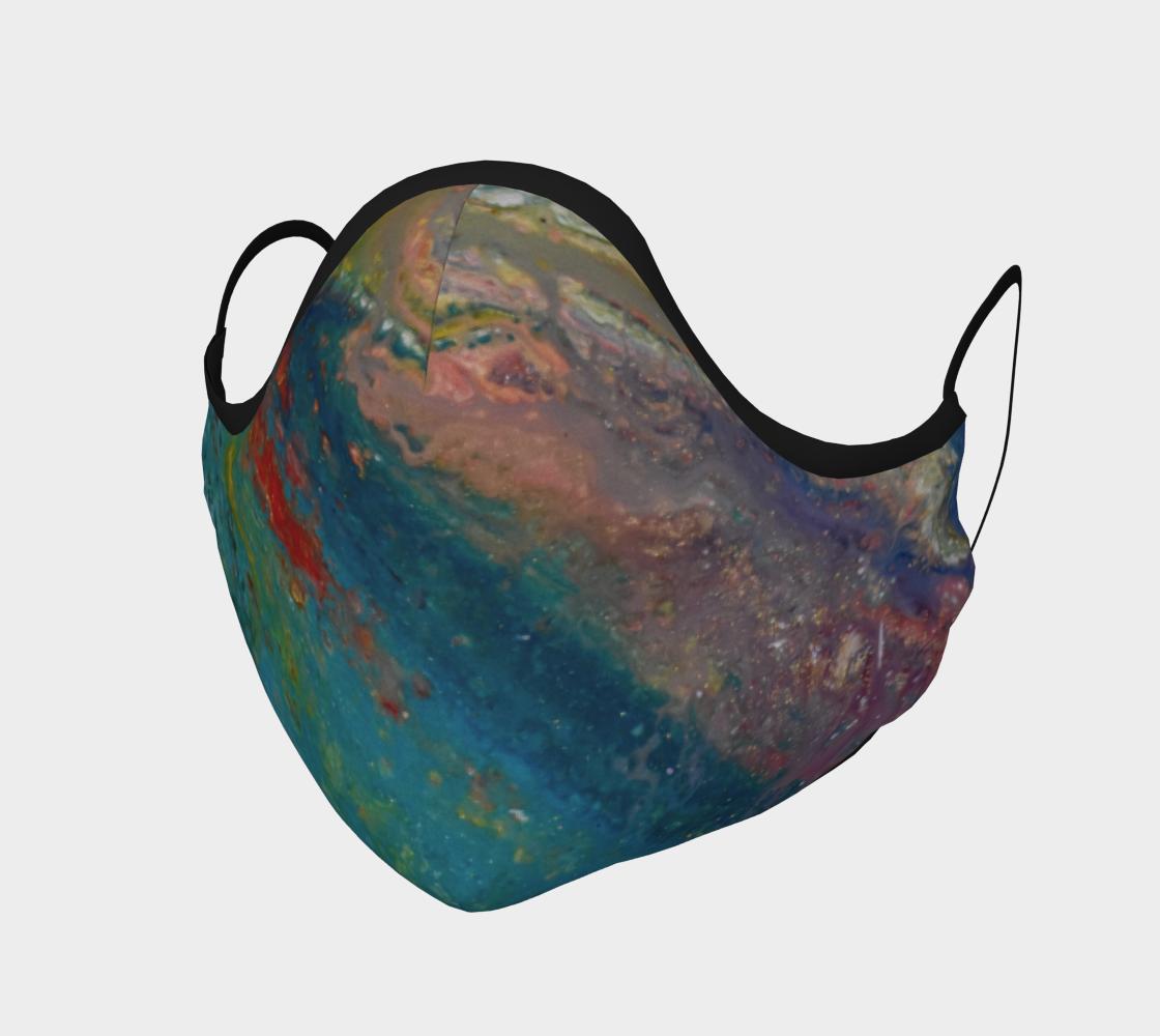 Aperçu de Couvre-visage abstaction colorée