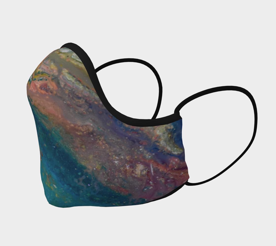 Aperçu de Couvre-visage abstaction colorée #2