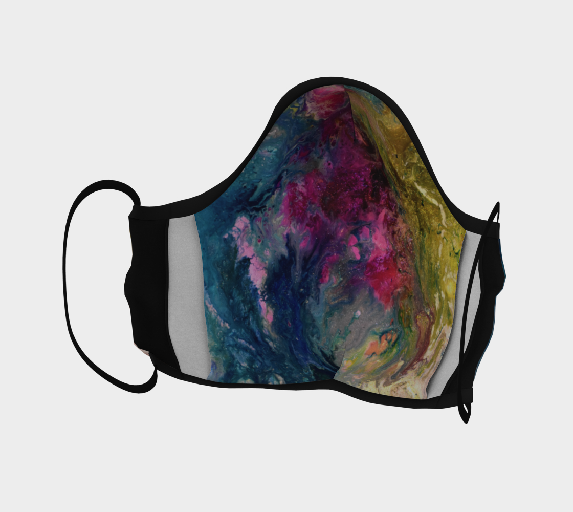 Aperçu de Rainbow blossom Mask #4
