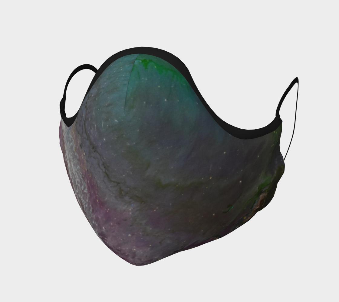 Aperçu de Couvre-visage mer rouge et verte