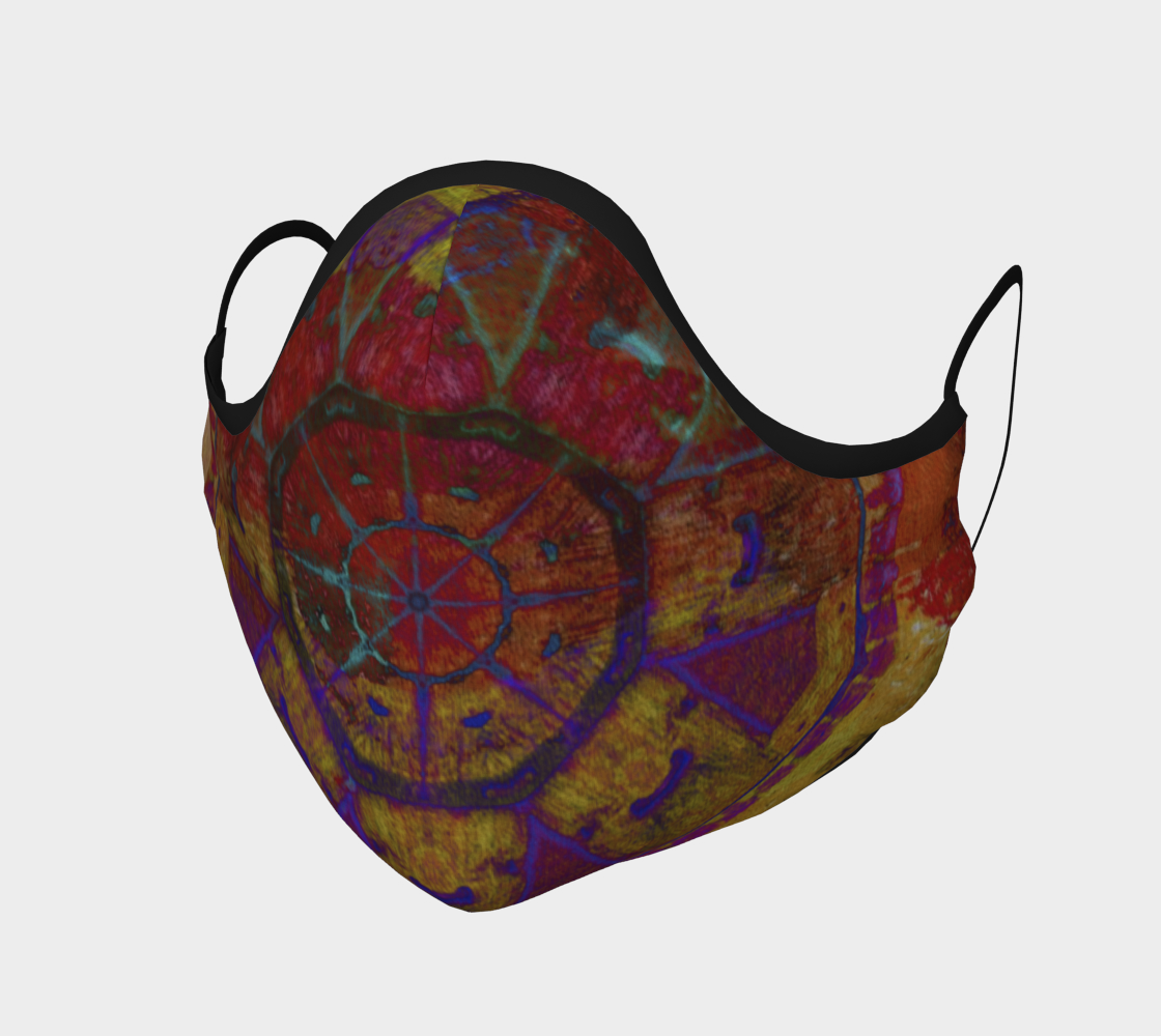 Aztec Dreaming Face Covering 3D preview