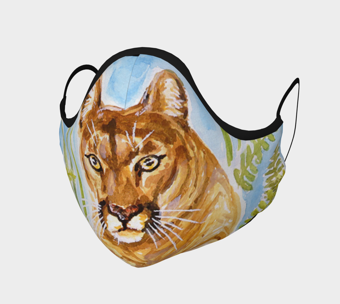 Reise Cougar - Face Mask preview
