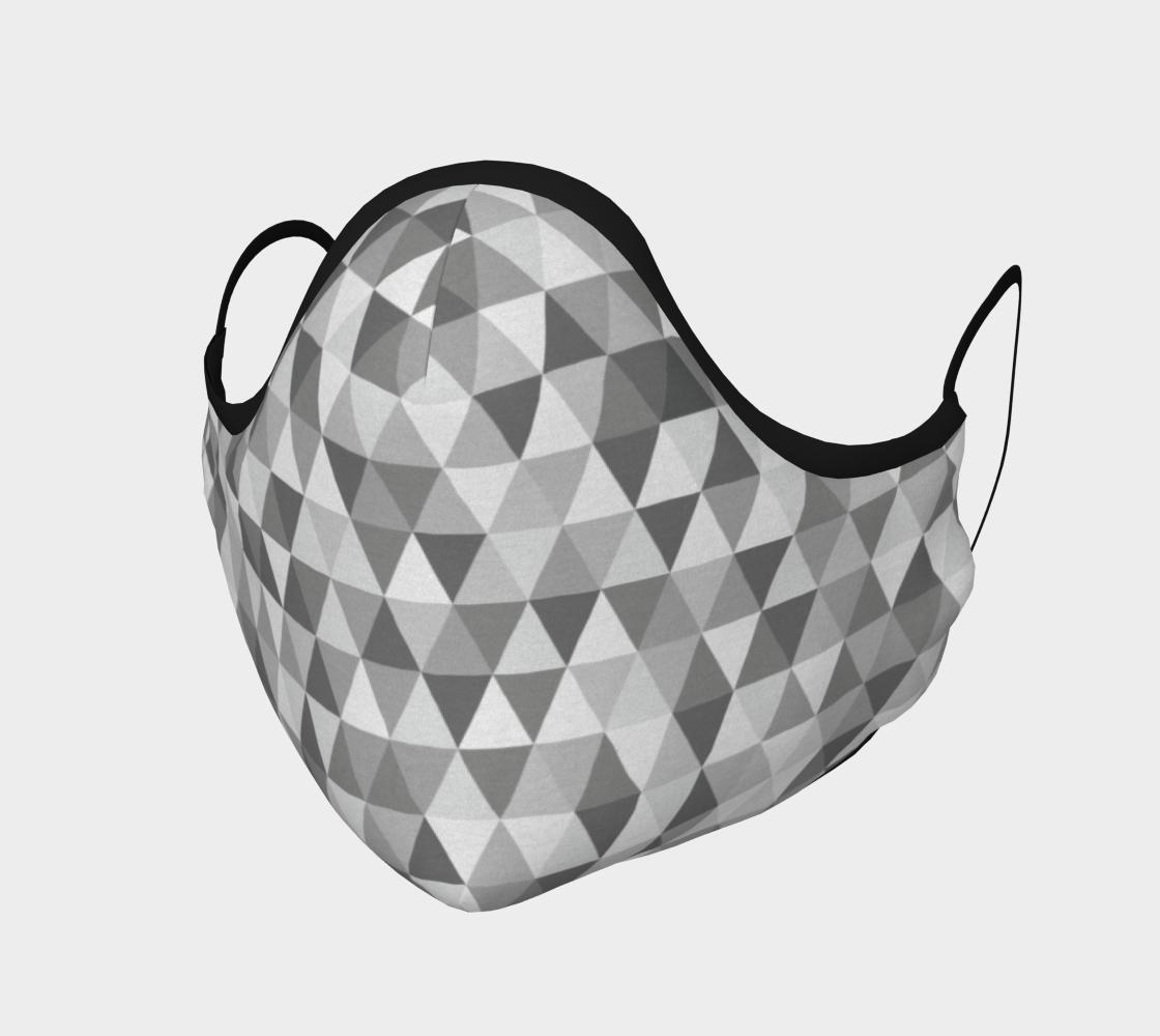 Mask - grey diamonds preview