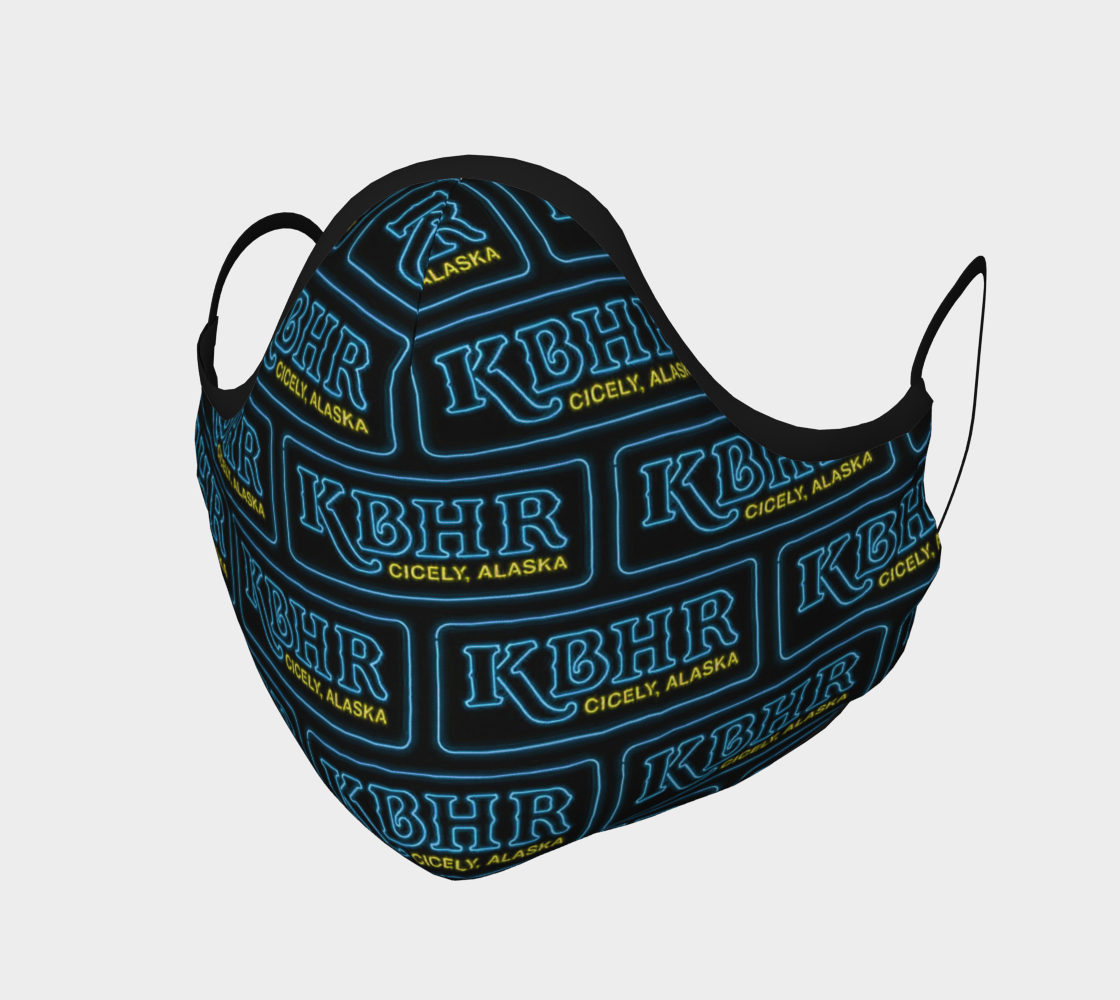 KBHR blue neon mask  preview