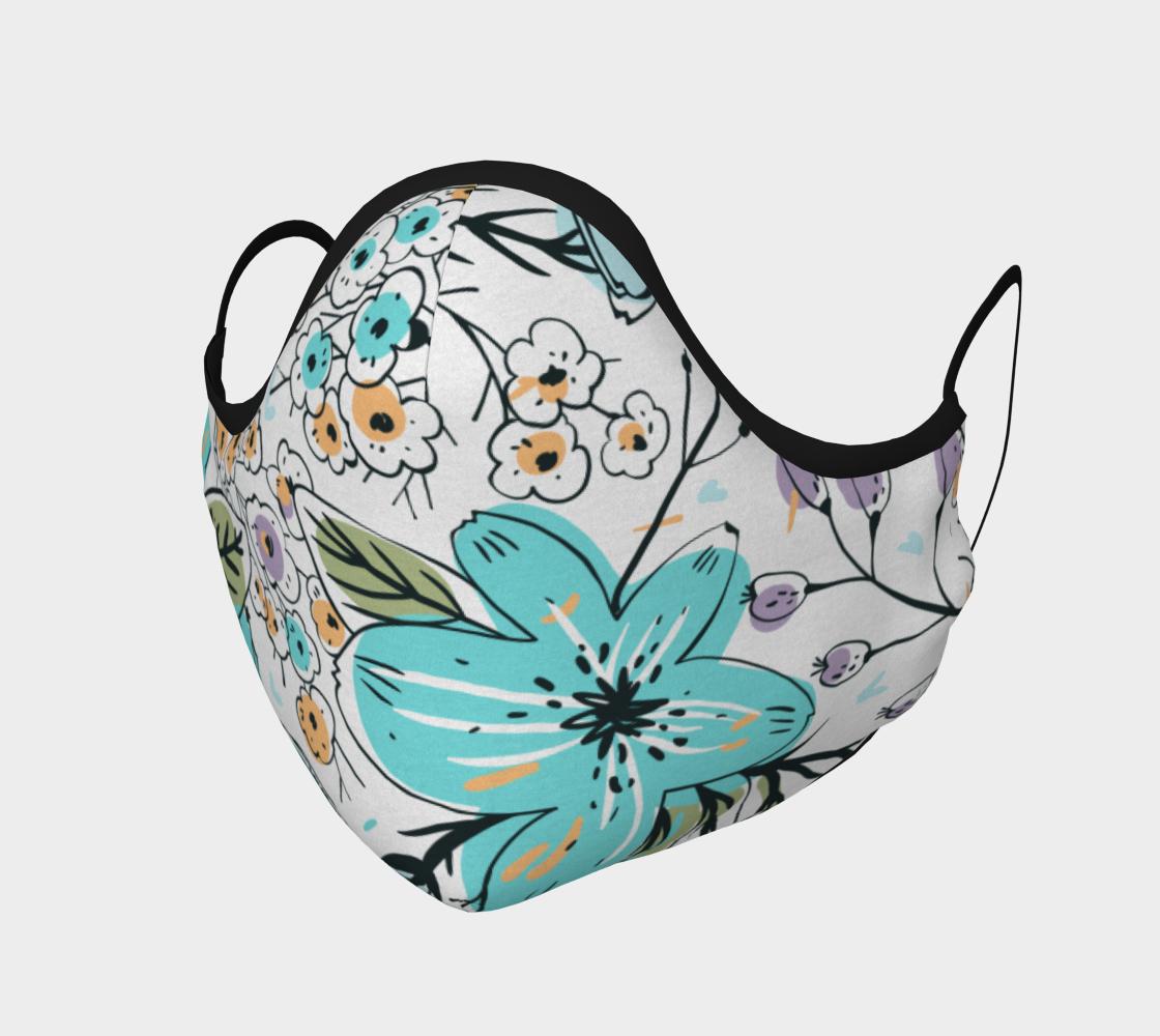 Aperçu de floral mask