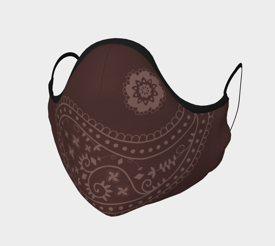 Paisley Chocolate Brown preview