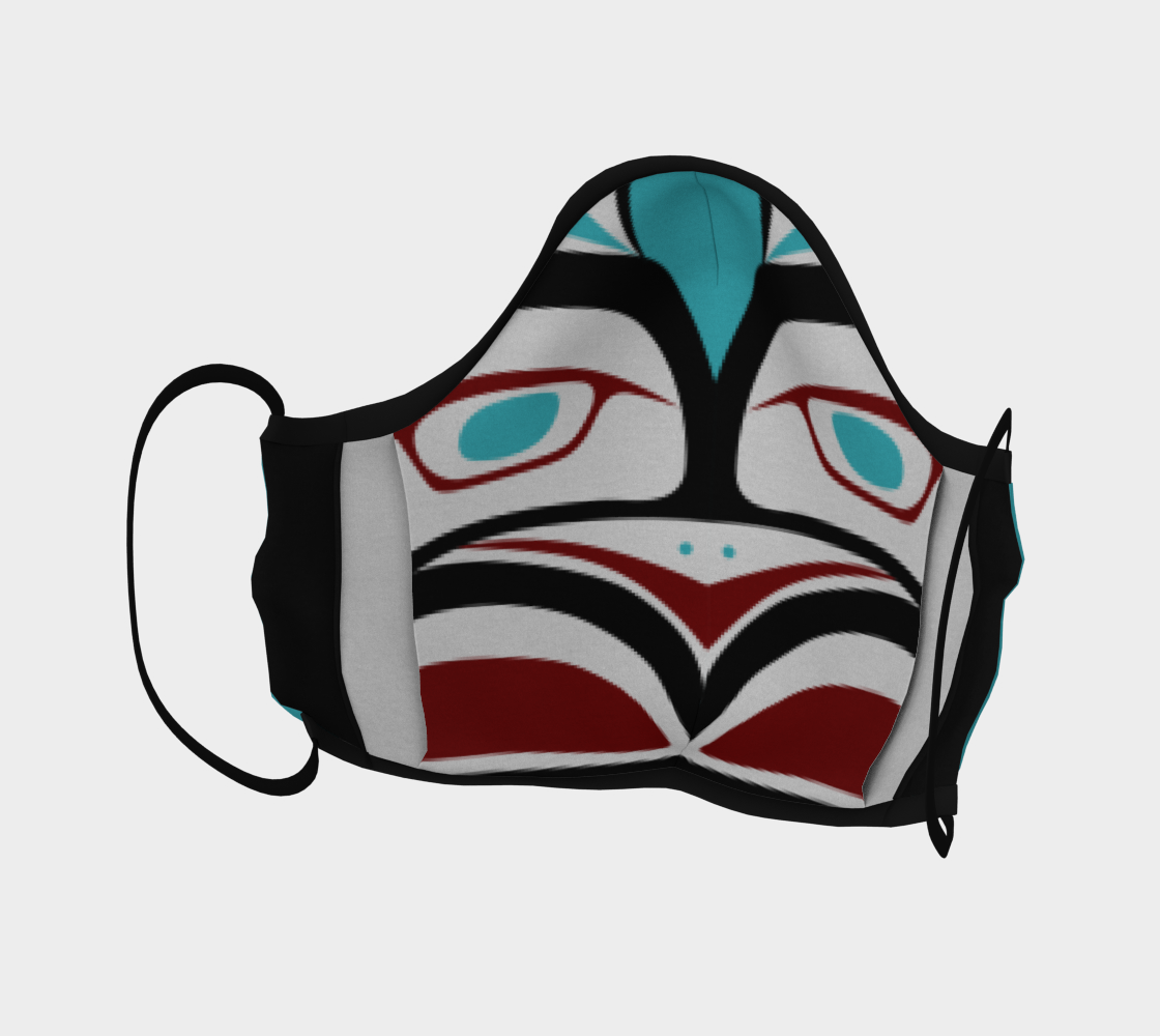 Formline Owl Face Mask preview #4