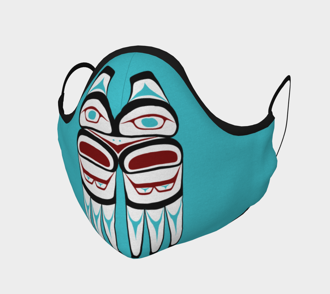 Formline Owl Face Mask preview