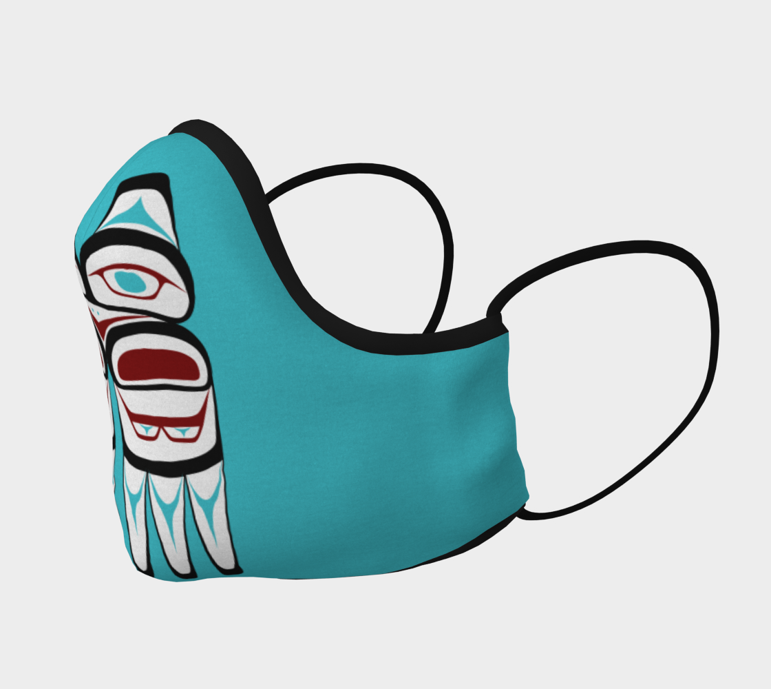 Formline Owl Face Mask preview #2