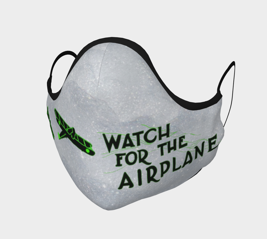 Watch for the airplane! (green) preview