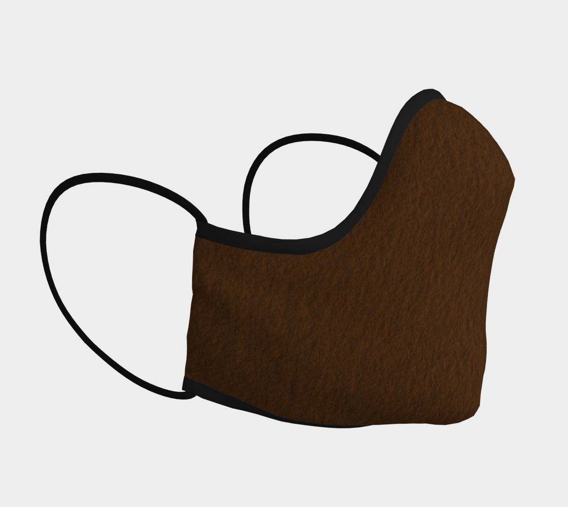 Brown Teardrop Mask preview #3