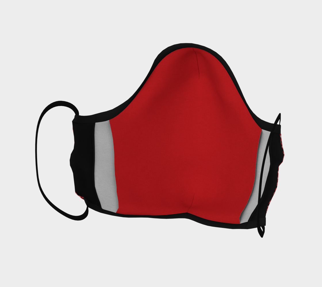 Red Bandana Facemask preview #4