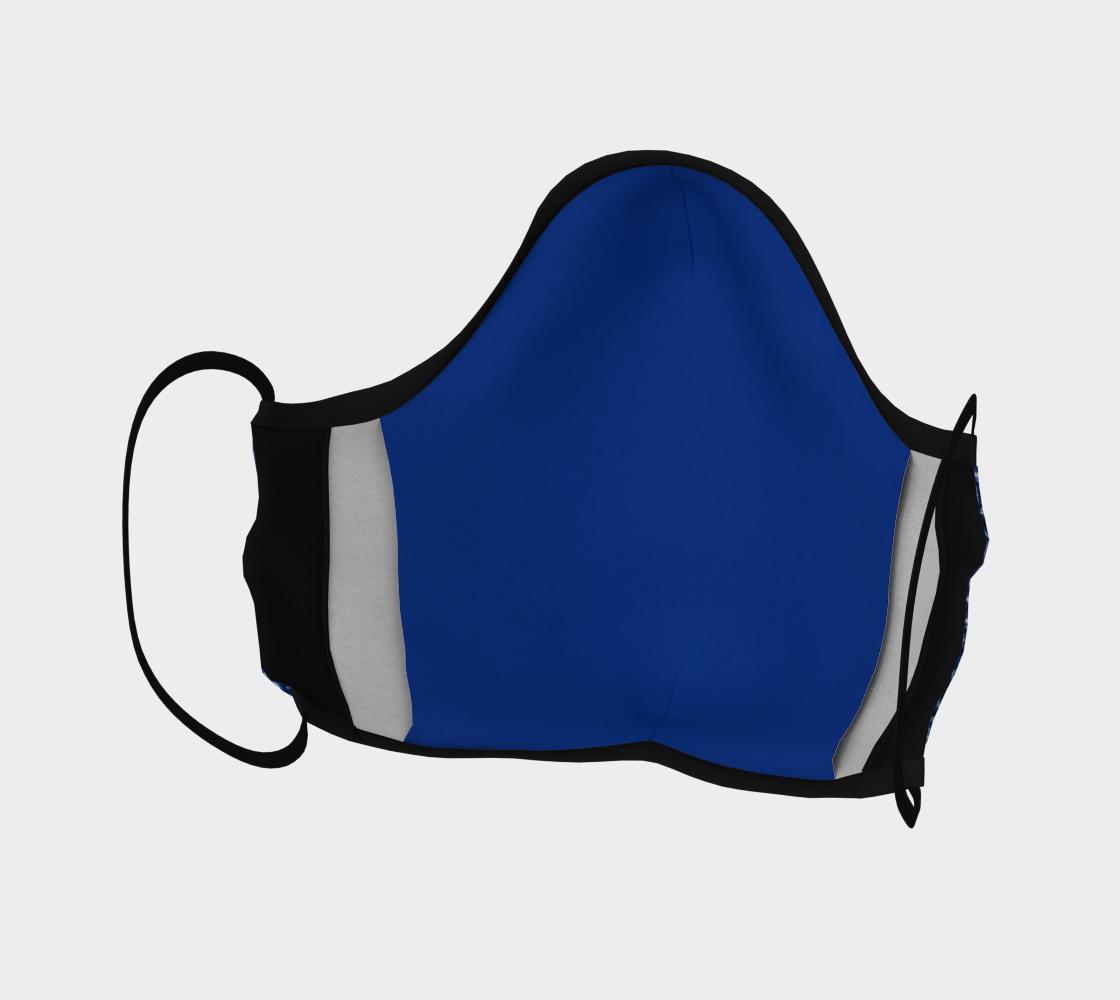 Blue Bandana Facemask preview #4