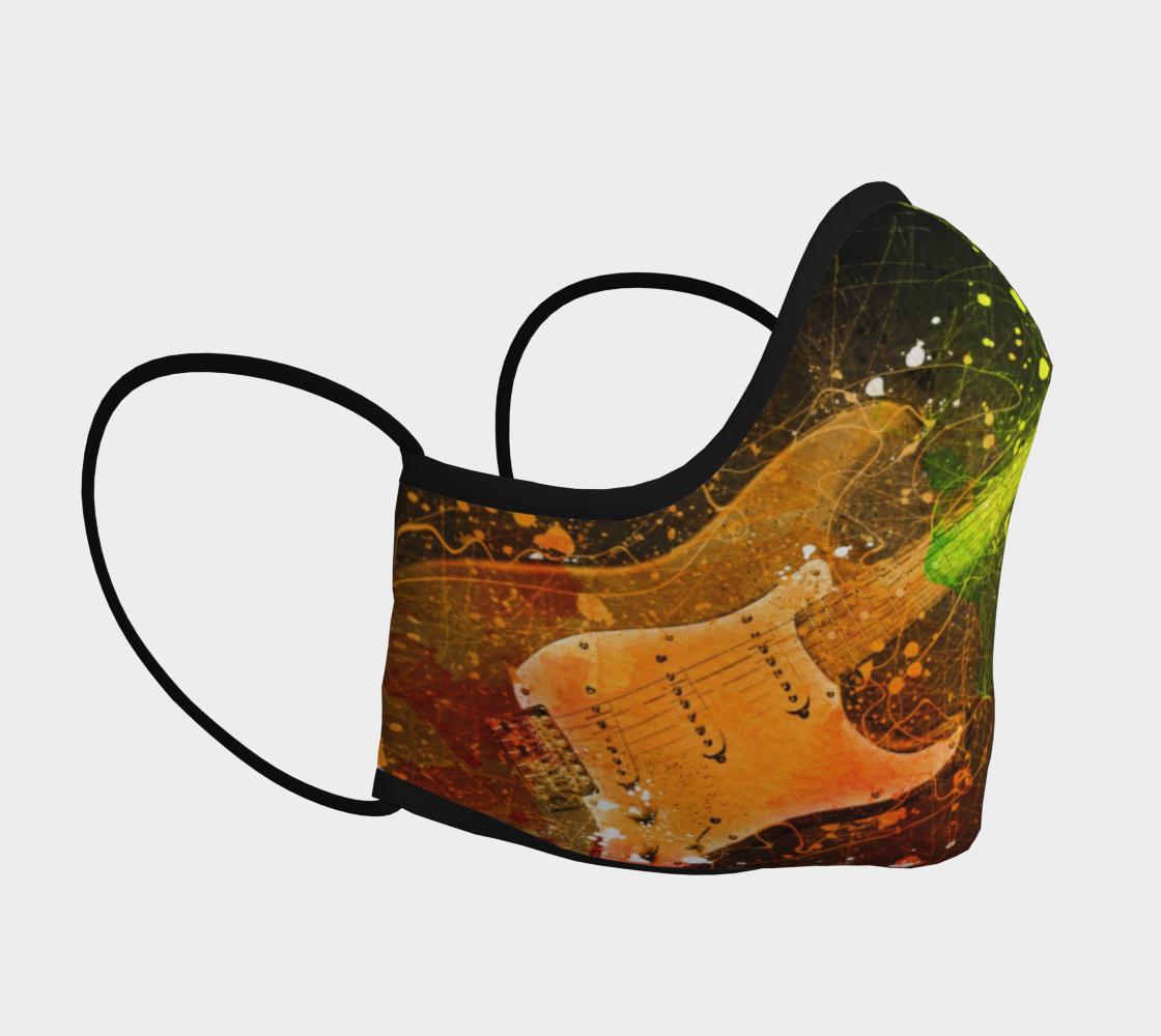 Splatter Guitar Mask preview #3