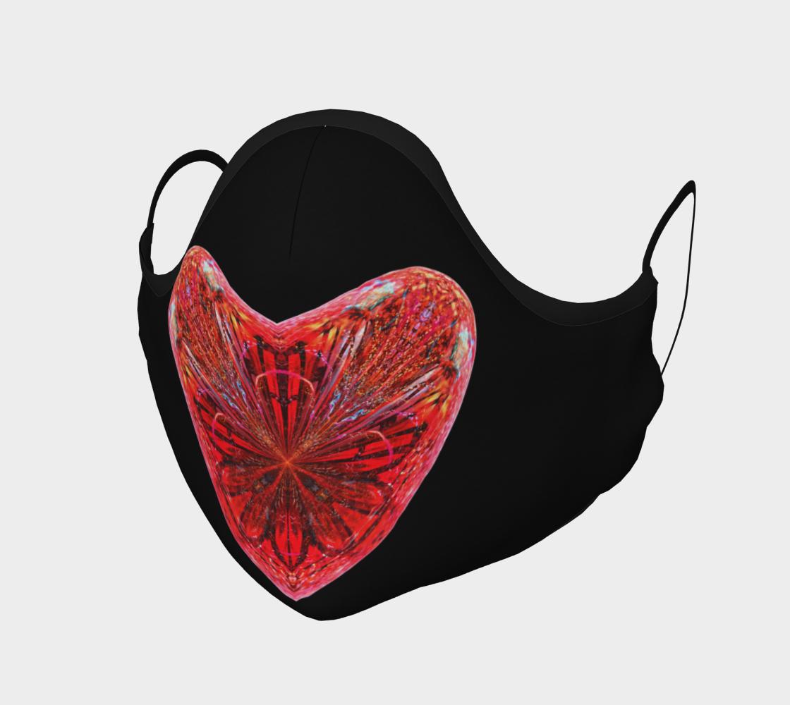 Full Heart Face Mask preview
