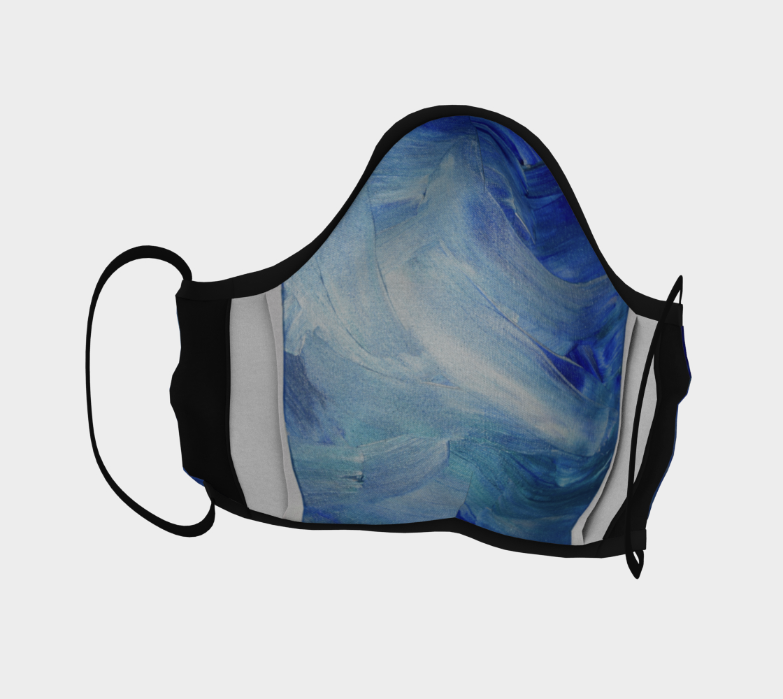 Face Mask:Blue Shimmer preview #4