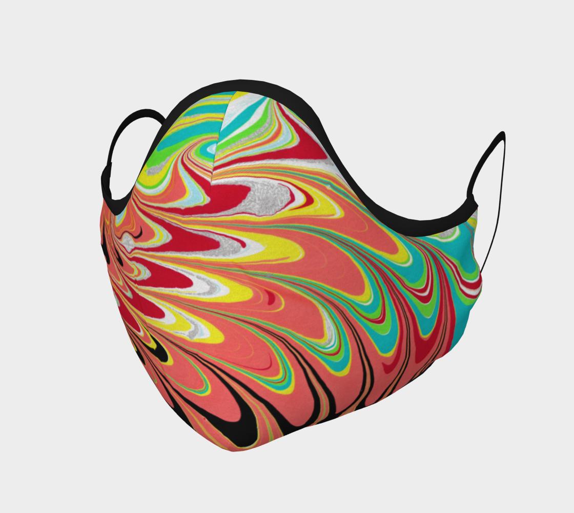 Aperçu de Masque 120  marbling Art Ebru peinture sur l'eau