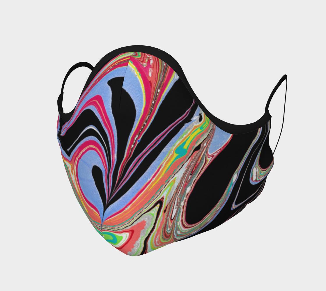 Masque 121  marbling Art Ebru peinture sur l'eau preview