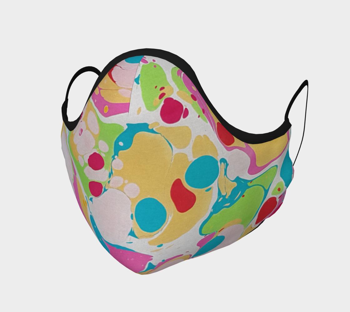 Masque 119  marbling Art Ebru peinture sur l'eau preview