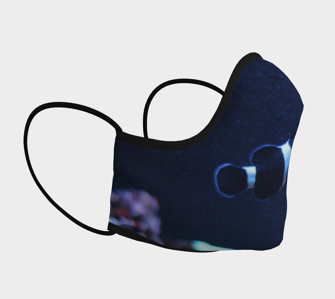 Dark Clown Fish Face Mask preview #3