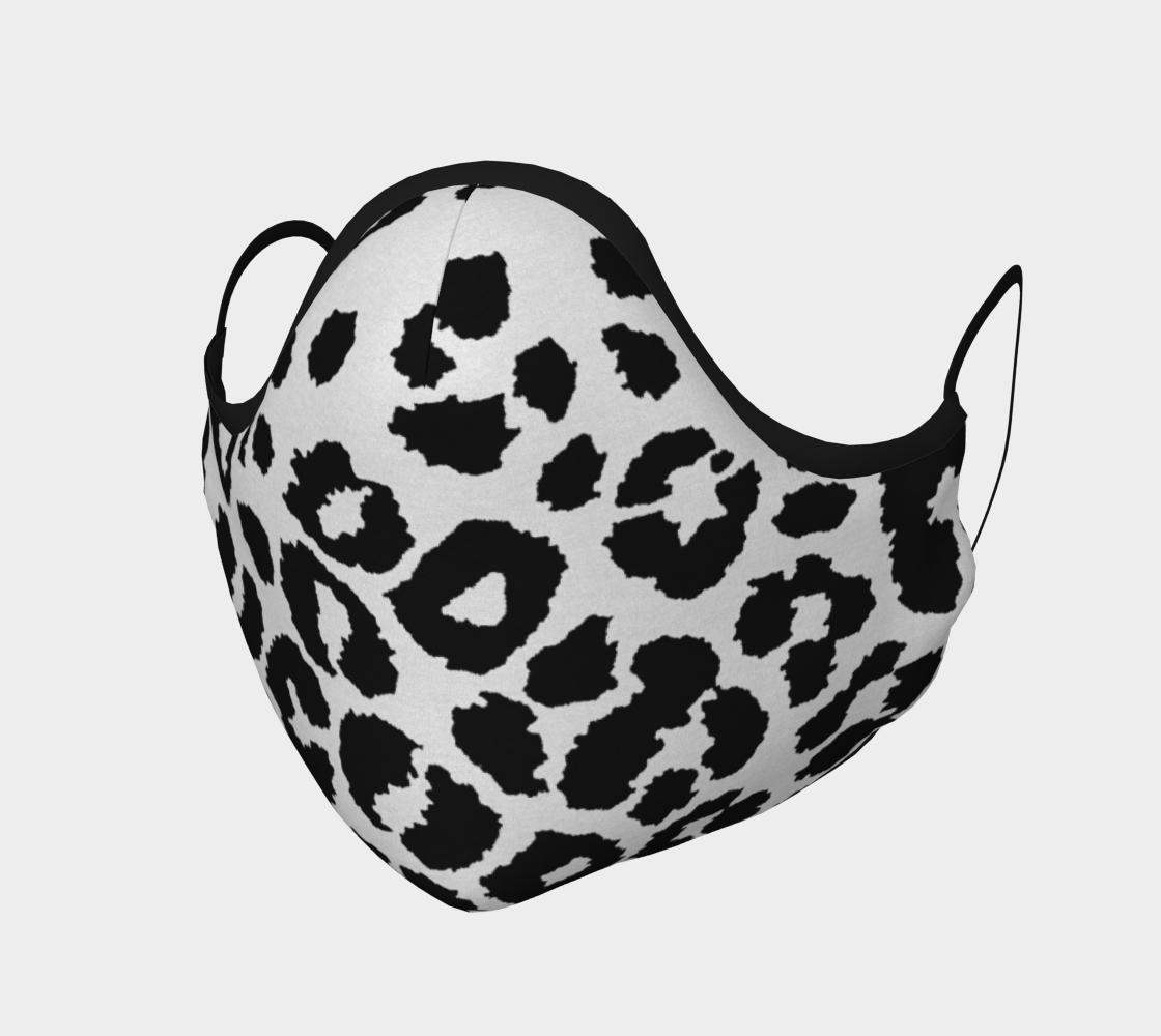 Aperçu de Snow Leopard Protective Face Mask by VCD ©