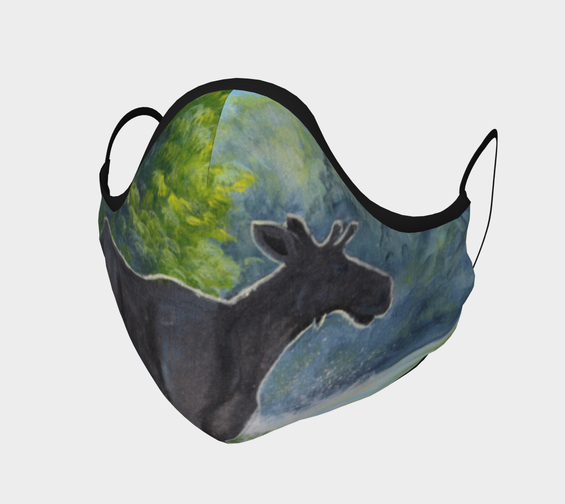 Morning Moose Mask preview #1