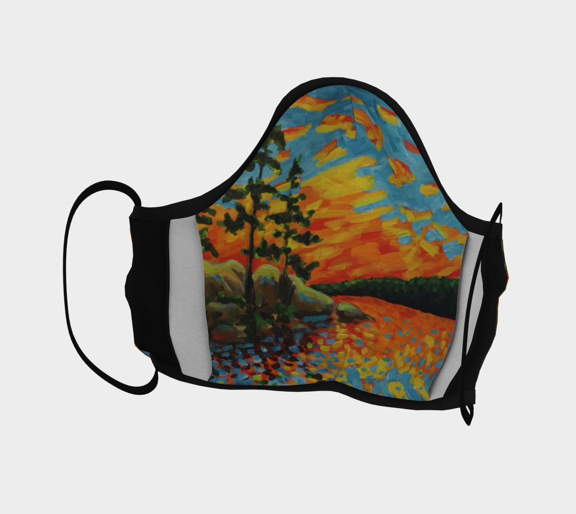 Lake of Two Rivers Mask preview #4