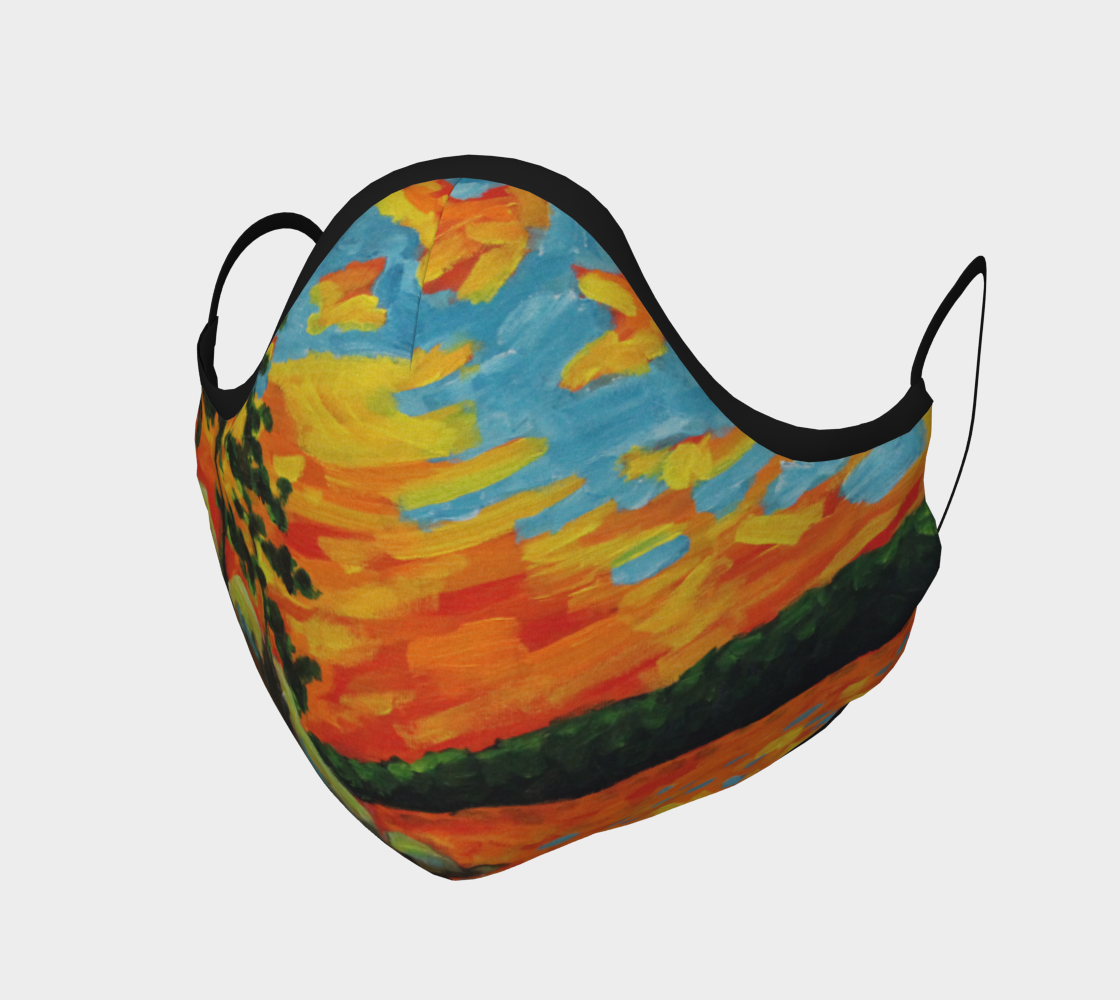 Lake of Two Rivers Mask preview #1