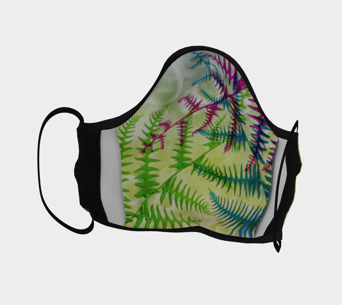 Aperçu de Peacock Fern Mask #4
